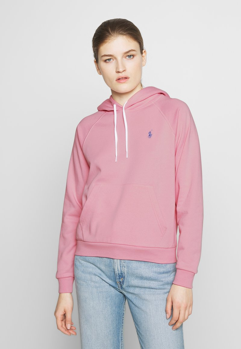 Polo Ralph Lauren - FEATHERWEIGHT - Bluza z kapturem - resort pink