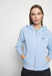 Polo Ralph Lauren - LONG SLEEVE  - Zip-up hoodie - elite blue - 3