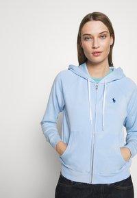 Polo Ralph Lauren - LONG SLEEVE  - Felpa aperta - elite blue - 3