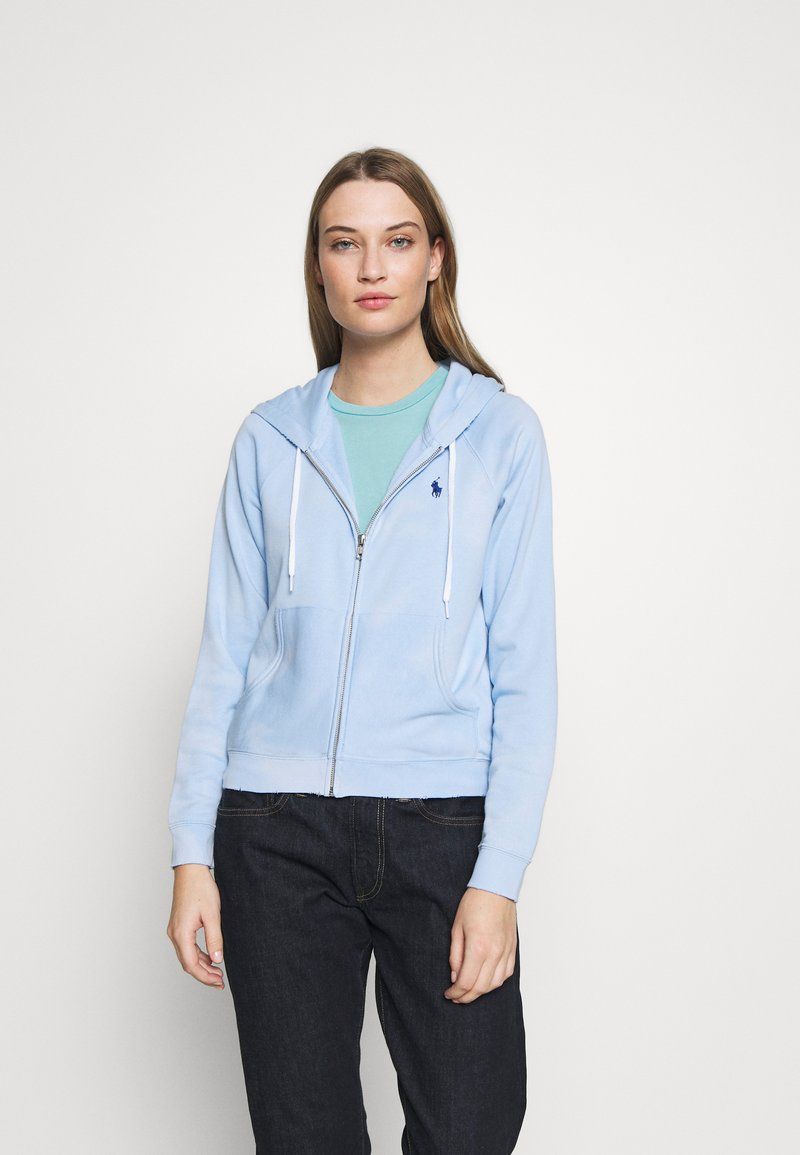 Polo Ralph Lauren - LONG SLEEVE  - Felpa aperta - elite blue
