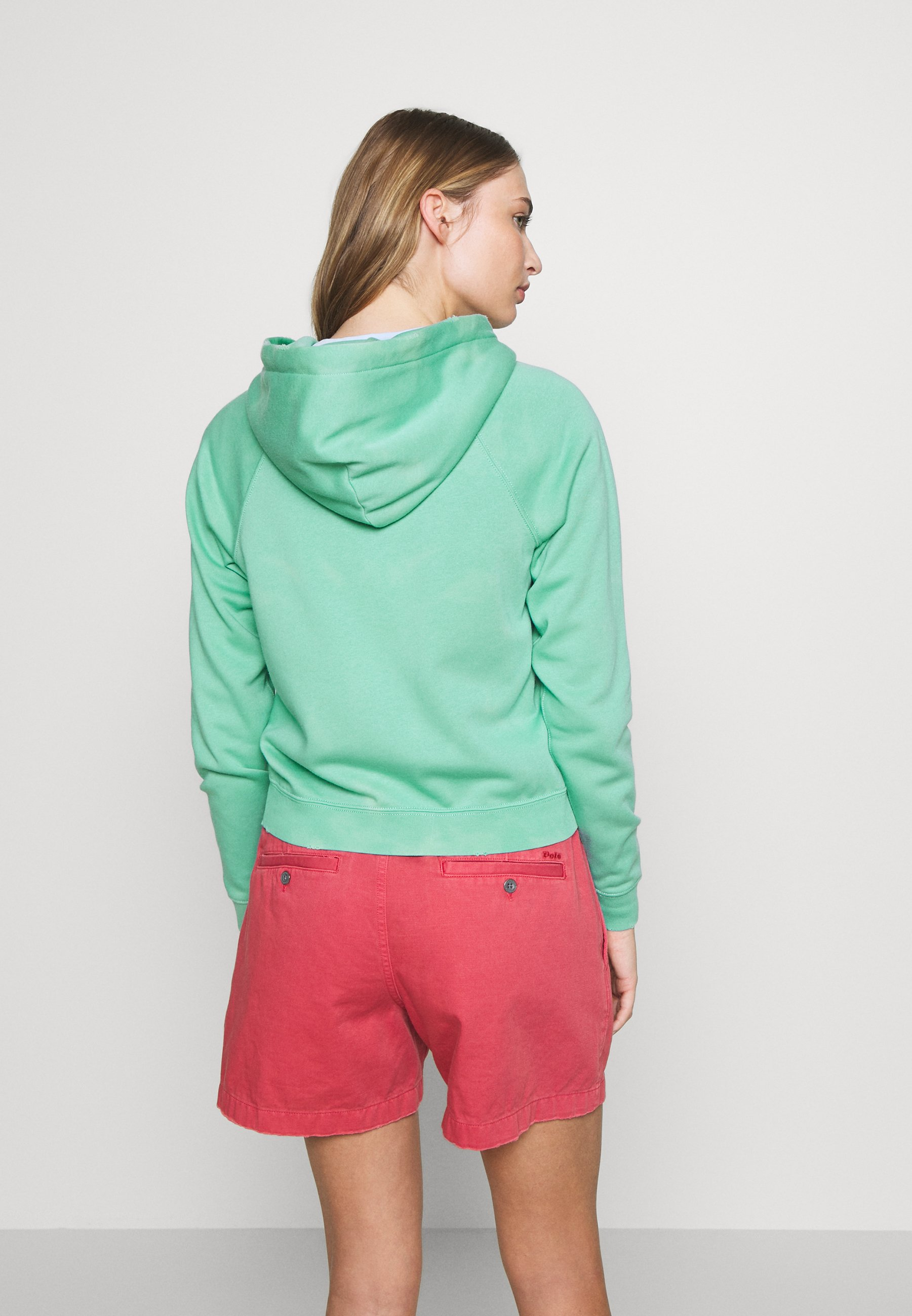 Polo Ralph Lauren LONG SLEEVE  - Bluza rozpinana - deep seafoam