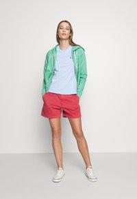 Polo Ralph Lauren - LONG SLEEVE  - veste en sweat zippée - deep seafoam - 1
