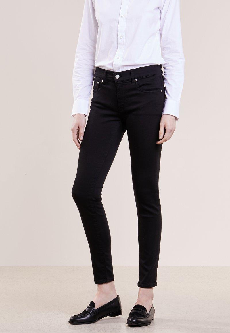 Polo Ralph Lauren - SUPER SKINNY - Slim fit jeans - black