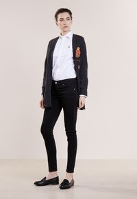 Polo Ralph Lauren - SUPER SKINNY - Jeans Slim Fit - black - 1