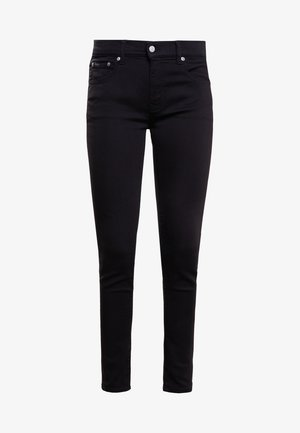 SUPER SKINNY - Slim fit jeans - black