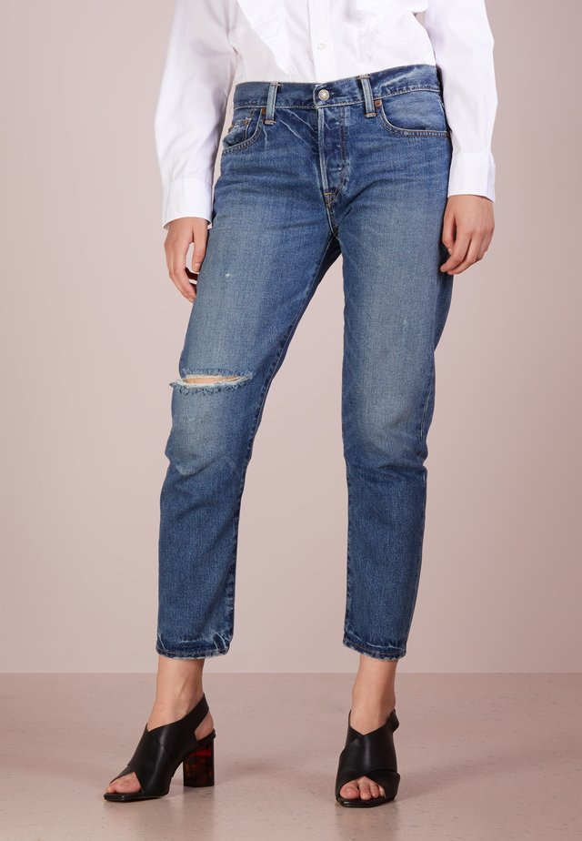 ALEXANDRINE - Jeans Relaxed Fit - medium indigo