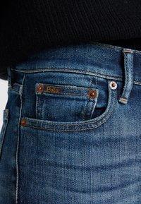 Polo Ralph Lauren - ROSALEEN - Jeans Skinny Fit - dark indigo - 4