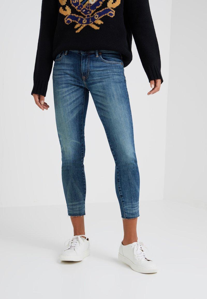 Polo Ralph Lauren - ROSALEEN - Jeans Skinny Fit - dark indigo