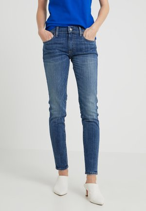 KENDRA - Slim fit jeans - medium indigo