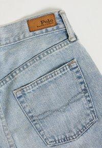 Polo Ralph Lauren - LOUISA WASH - Džíny Slim Fit - light indigo - 4
