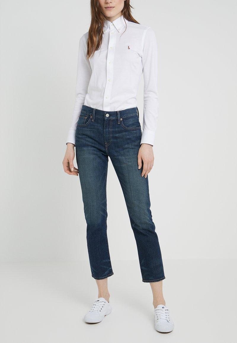 Polo Ralph Lauren - DANIKA - Jeans a sigaretta - dark indigo