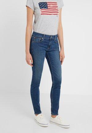 SARLA - Skinny džíny - medium indigo