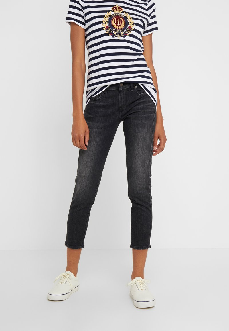 Polo Ralph Lauren - ASH WASH - Jeans Skinny - washed black