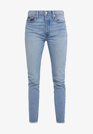 CLEARVIEW WASH - Skinny džíny - light indigo