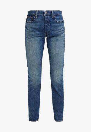 HEATHERS - Slim fit jeans - medium indigo