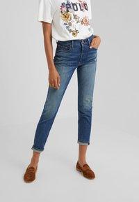 Polo Ralph Lauren - HEATHERS - Jeans slim fit - medium indigo - 0