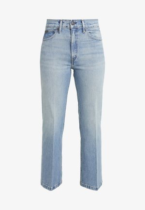 MIKAELA WASH - Jeans a zampa - light indigo