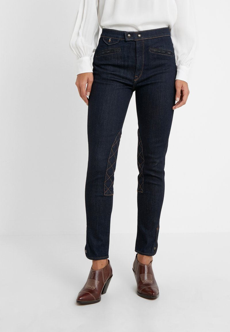 Polo Ralph Lauren - RAYNA WASH - Vaqueros slim fit - dark indigo