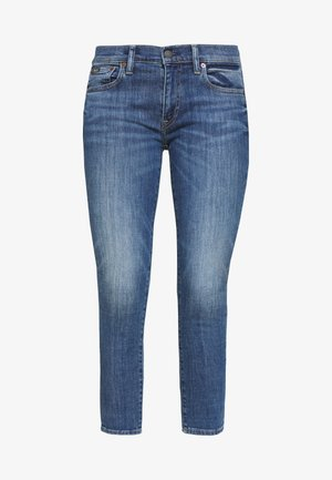 BAYE WASH - Skinny džíny - medium indigo