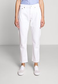 Polo Ralph Lauren - CARDWELL WASH - Relaxed fit jeans - white - 0