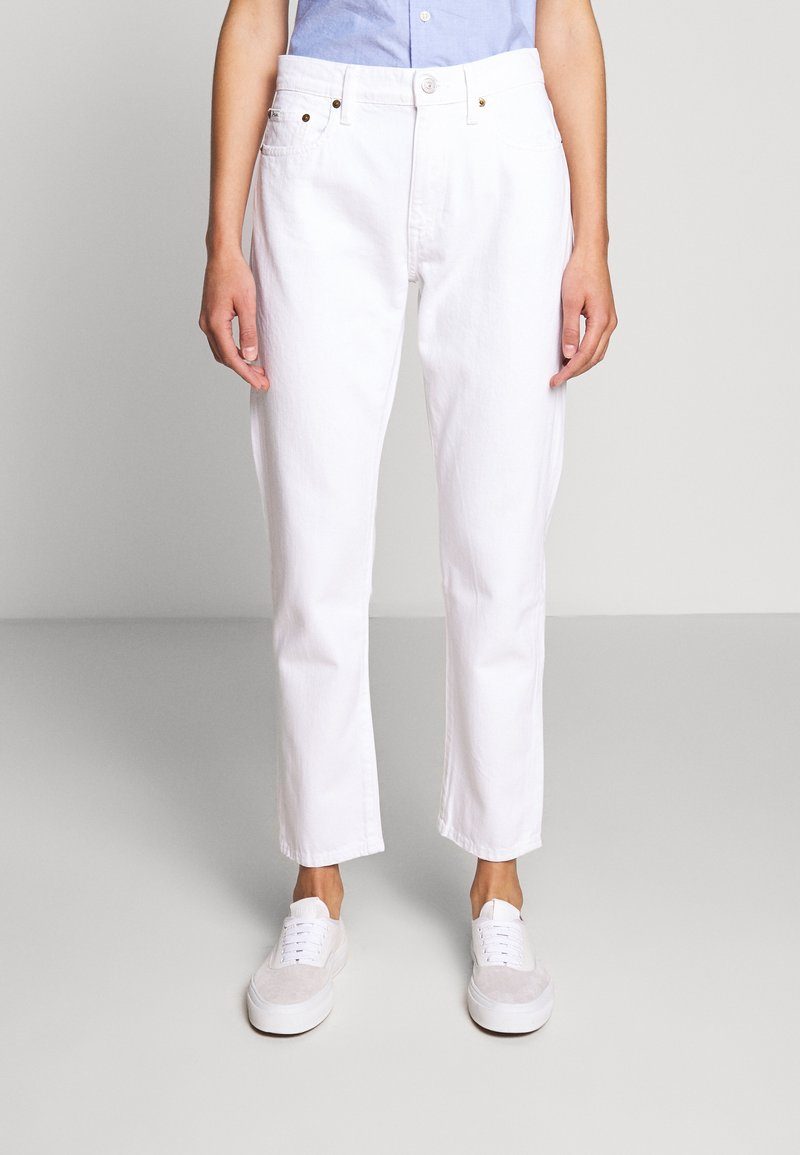 Polo Ralph Lauren - CARDWELL WASH - Relaxed fit jeans - white