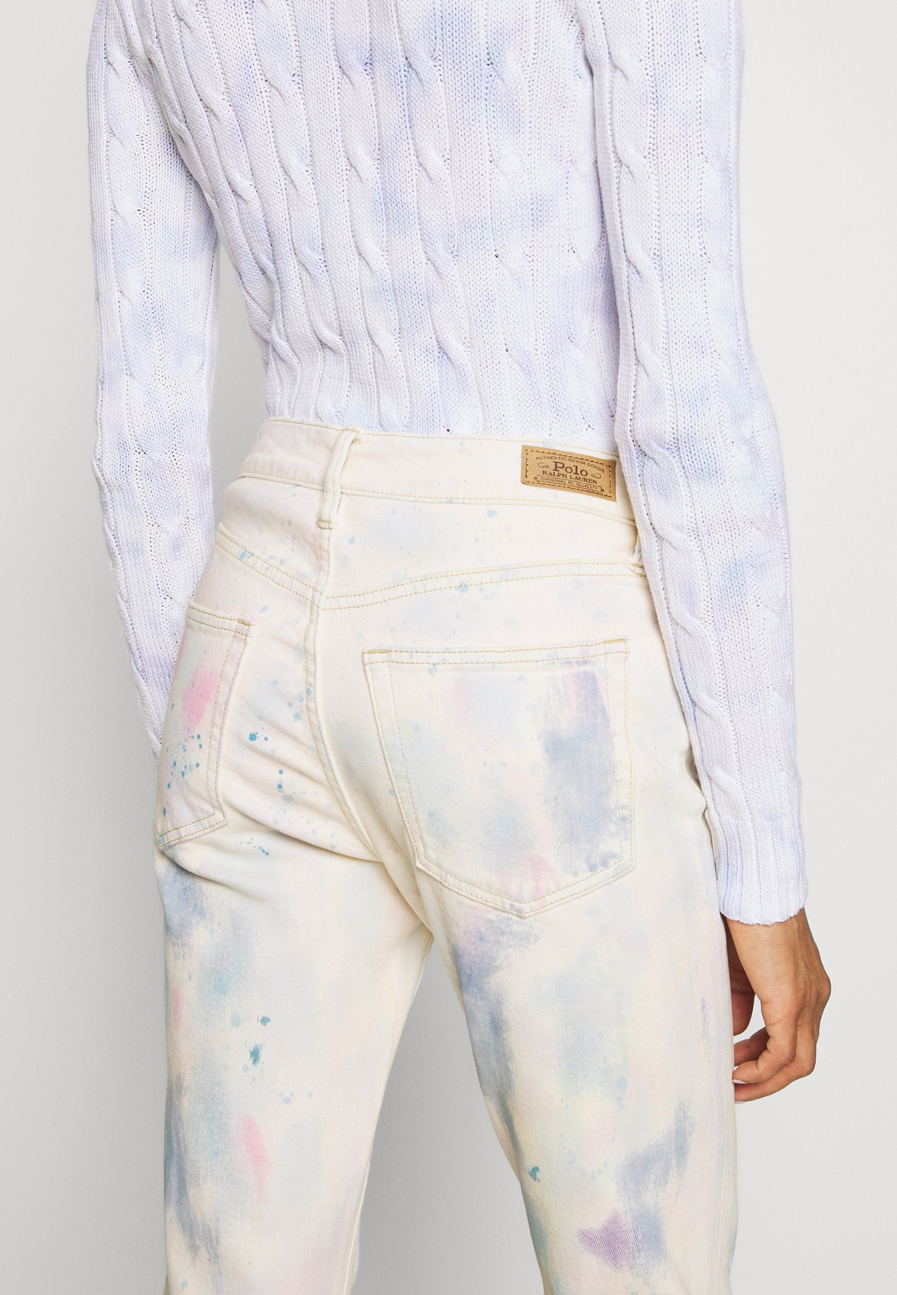 Polo Ralph Lauren SPRINGS WASH - Jeansy Skinny Fit - watercolor