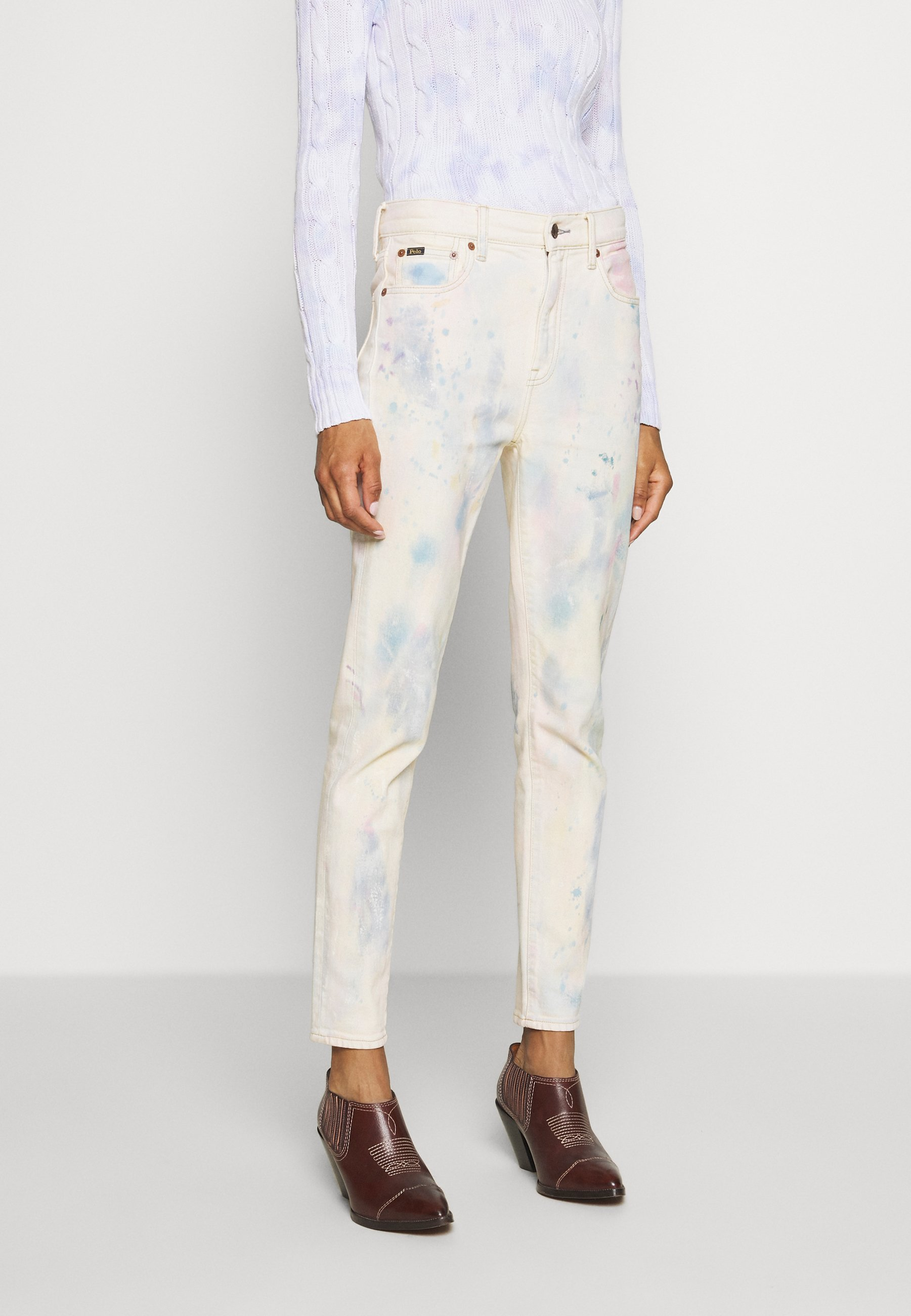 Polo Ralph Lauren ANDERS WASH - Straight leg jeans - light indigo pain