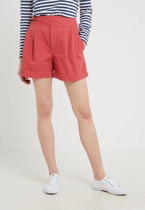 MONTAUK - Denim shorts - nantucket red