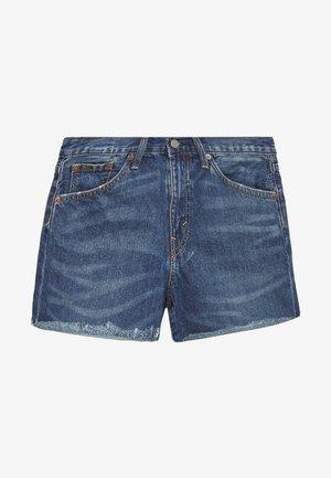 SPHIA CUTOFF - Jeans Shorts - medium indigo