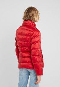 Polo Ralph Lauren - MOMENTUM - Bunda zprachového peří - madison red - 3
