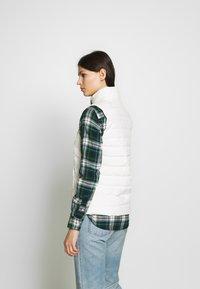 Polo Ralph Lauren - MATTE FINE  - Waistcoat - white - 2