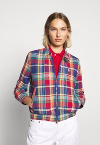 Polo Ralph Lauren - JACKET - Lehká bunda - blue/red madra - 3