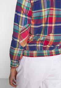 Polo Ralph Lauren - JACKET - Lehká bunda - blue/red madra - 6