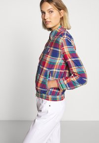 Polo Ralph Lauren - JACKET - Lehká bunda - blue/red madra - 5