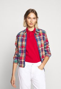 Polo Ralph Lauren - JACKET - Chaqueta fina - blue/red madra - 0