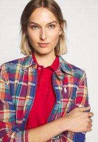 Polo Ralph Lauren - JACKET - Lehká bunda - blue/red madra - 4