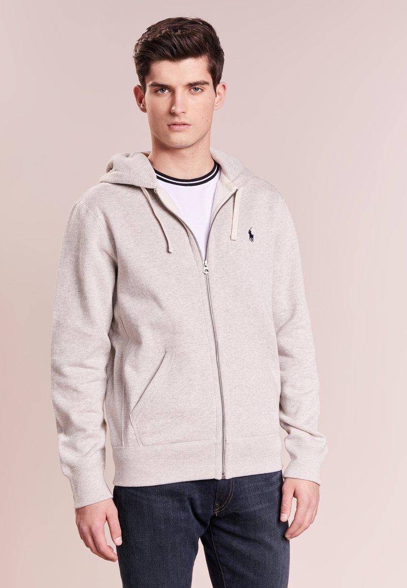 Polo Ralph Lauren - HOOD - Huvtröja med dragkedja - light grey
