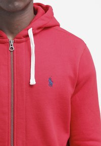 Polo Ralph Lauren - HOOD - Mikina na zip - red - 4