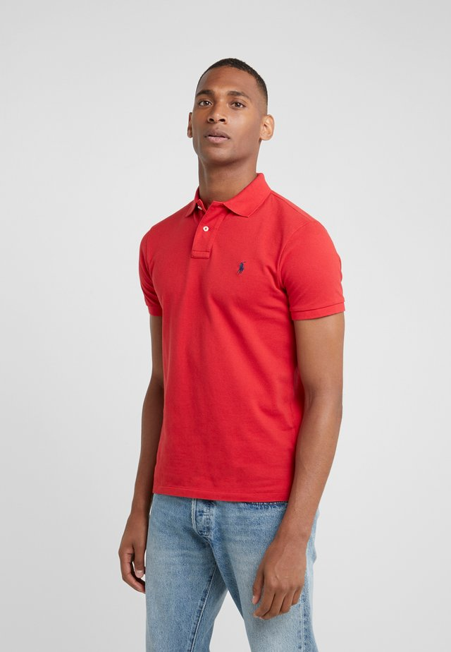 SLIM FIT - Poloshirt - red