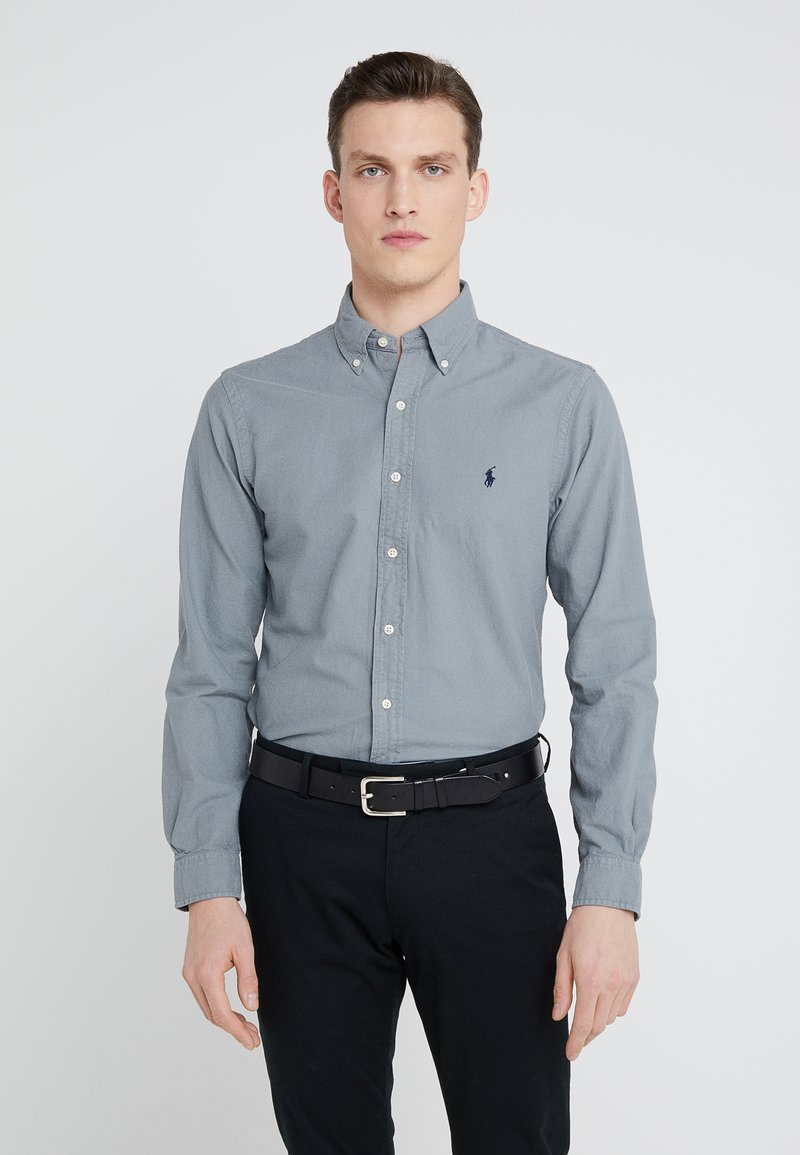 Polo Ralph Lauren - OXFORD SLIM FIT - Vapaa-ajan kauluspaita - perfect grey