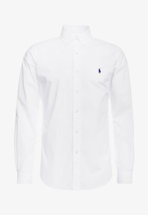 NATURAL SLIM FIT - Overhemd - white