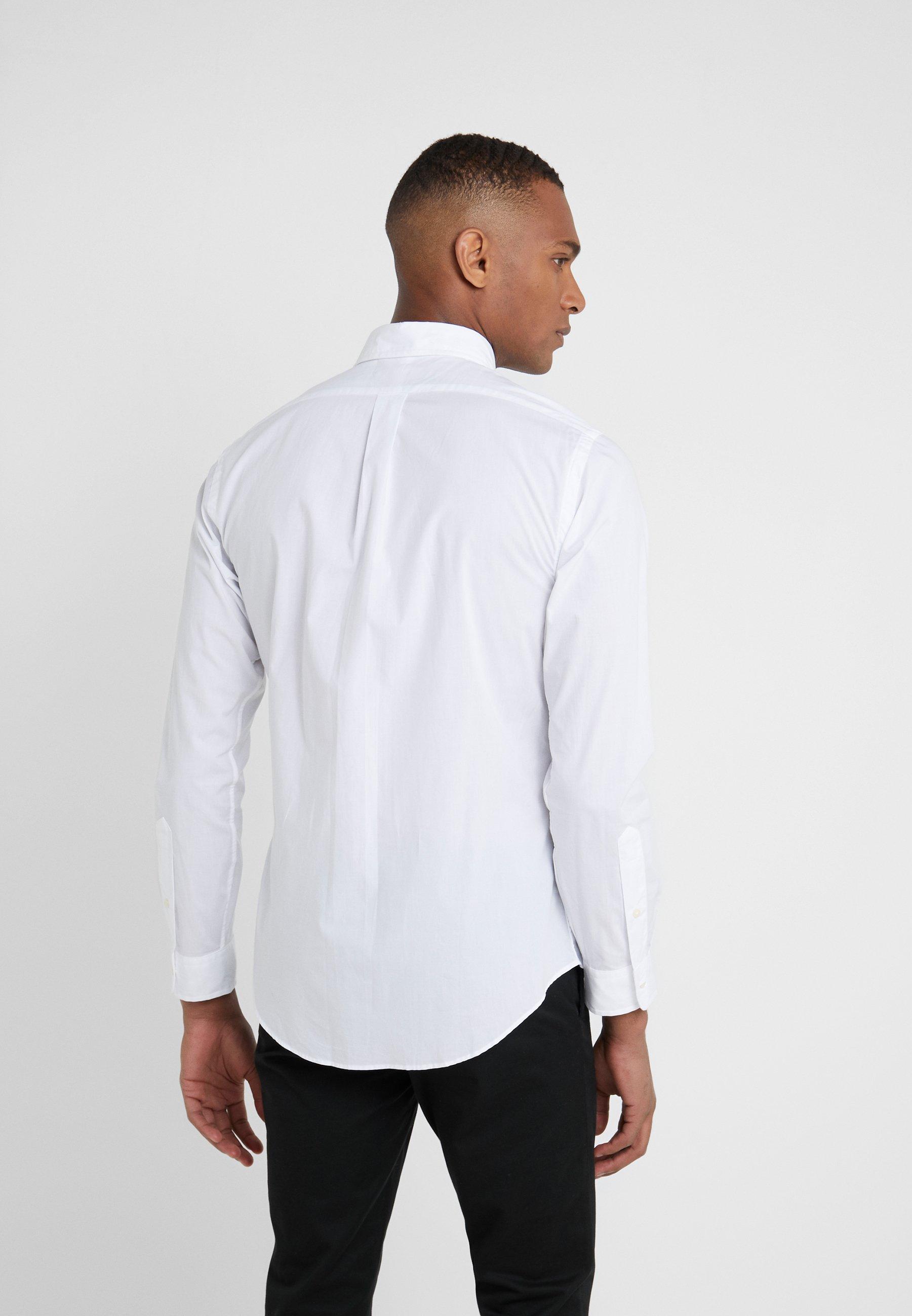 Polo Ralph Lauren NATURAL SLIM FIT - Camicia - white