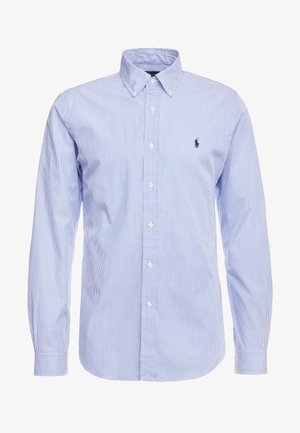 NATURAL SLIM FIT - Chemise - blue/white
