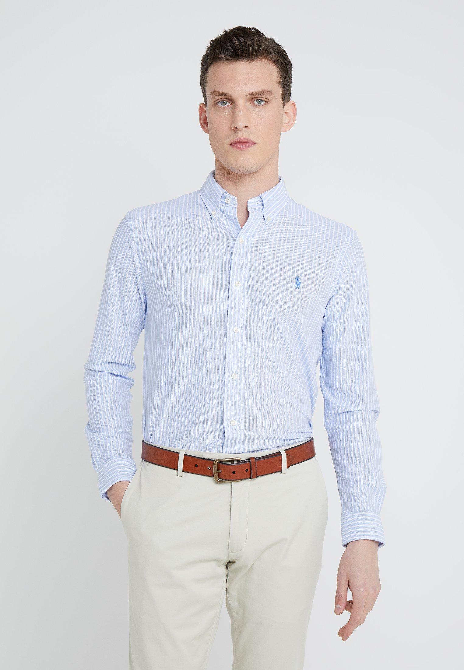 Polo Ralph Lauren OXFORD - Koszula - light blue/white