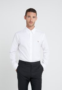 Polo Ralph Lauren - EASYCARE PINPOINT OXFORD CUSTOM FIT - Košile - white - 0