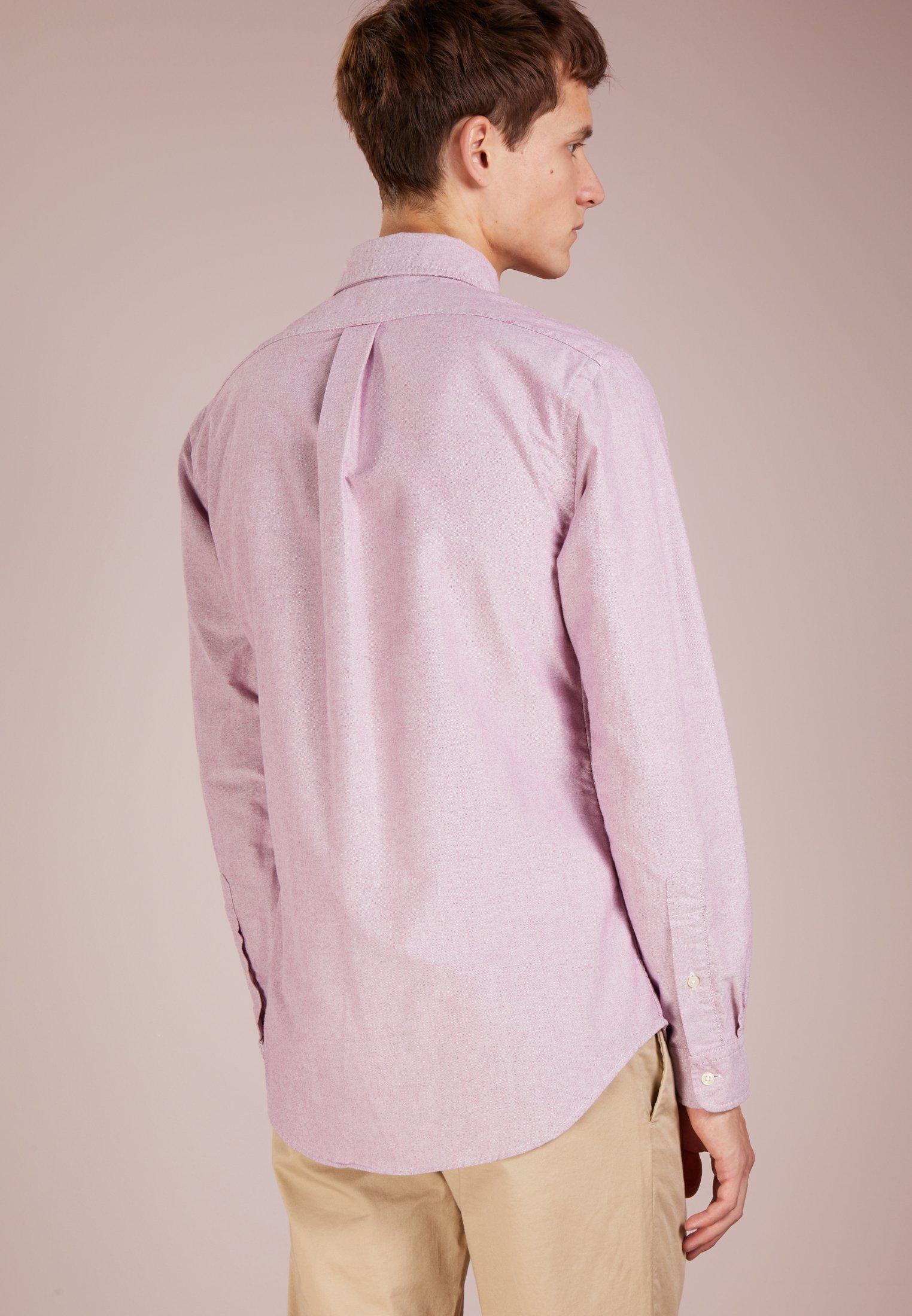 Polo Ralph Lauren Oxford Slim Fit - Skjorta Crimson/white