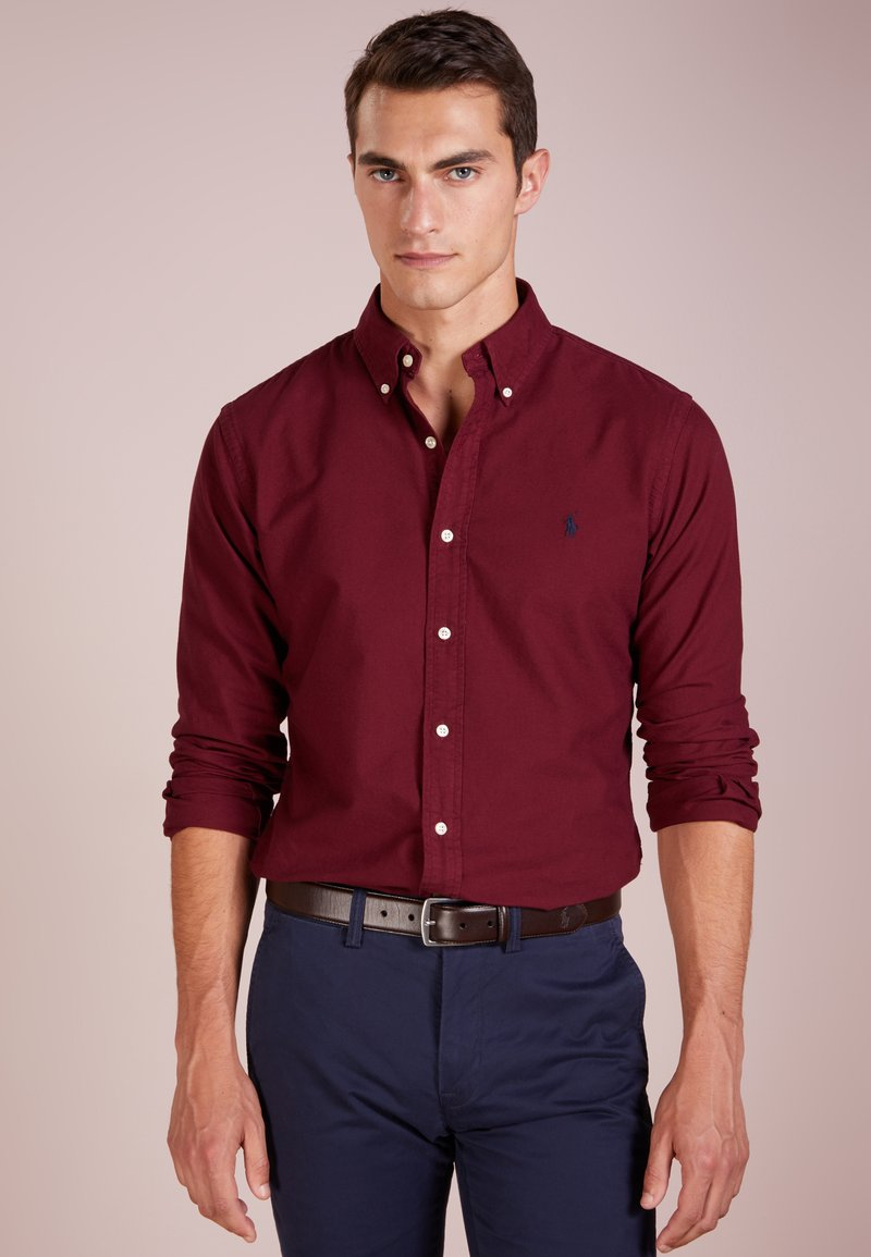 Polo Ralph Lauren - OXFORD SLIM FIT - Skjorta - classic wine