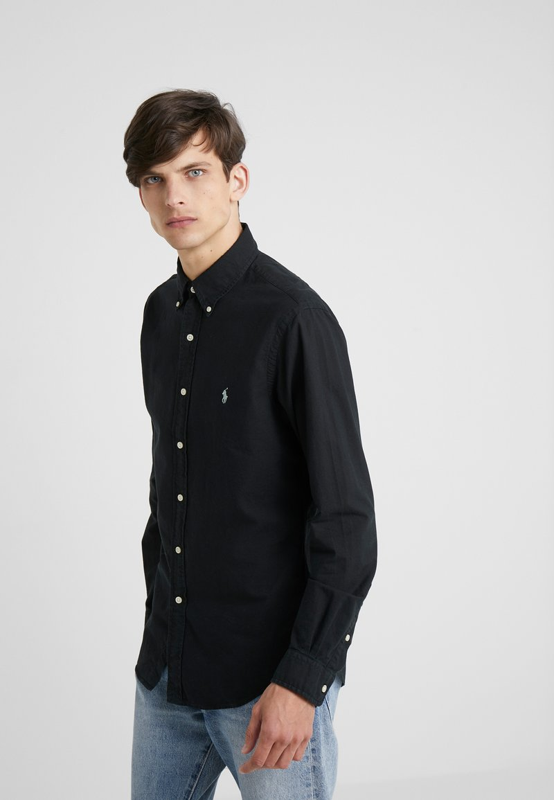 Polo Ralph Lauren - OXFORD SLIM FIT - Camisa - black/grey