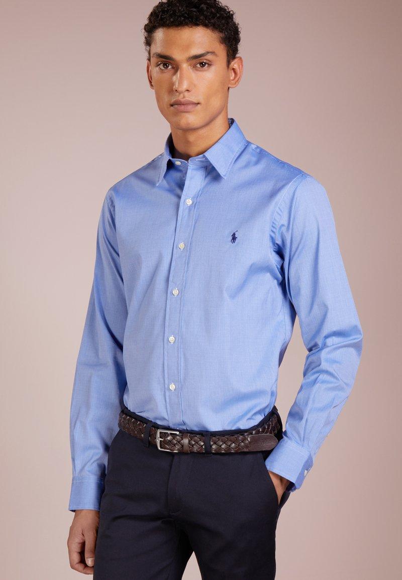 Polo Ralph Lauren - PHILLIP SLIM FIT - Camisa - blue end on end