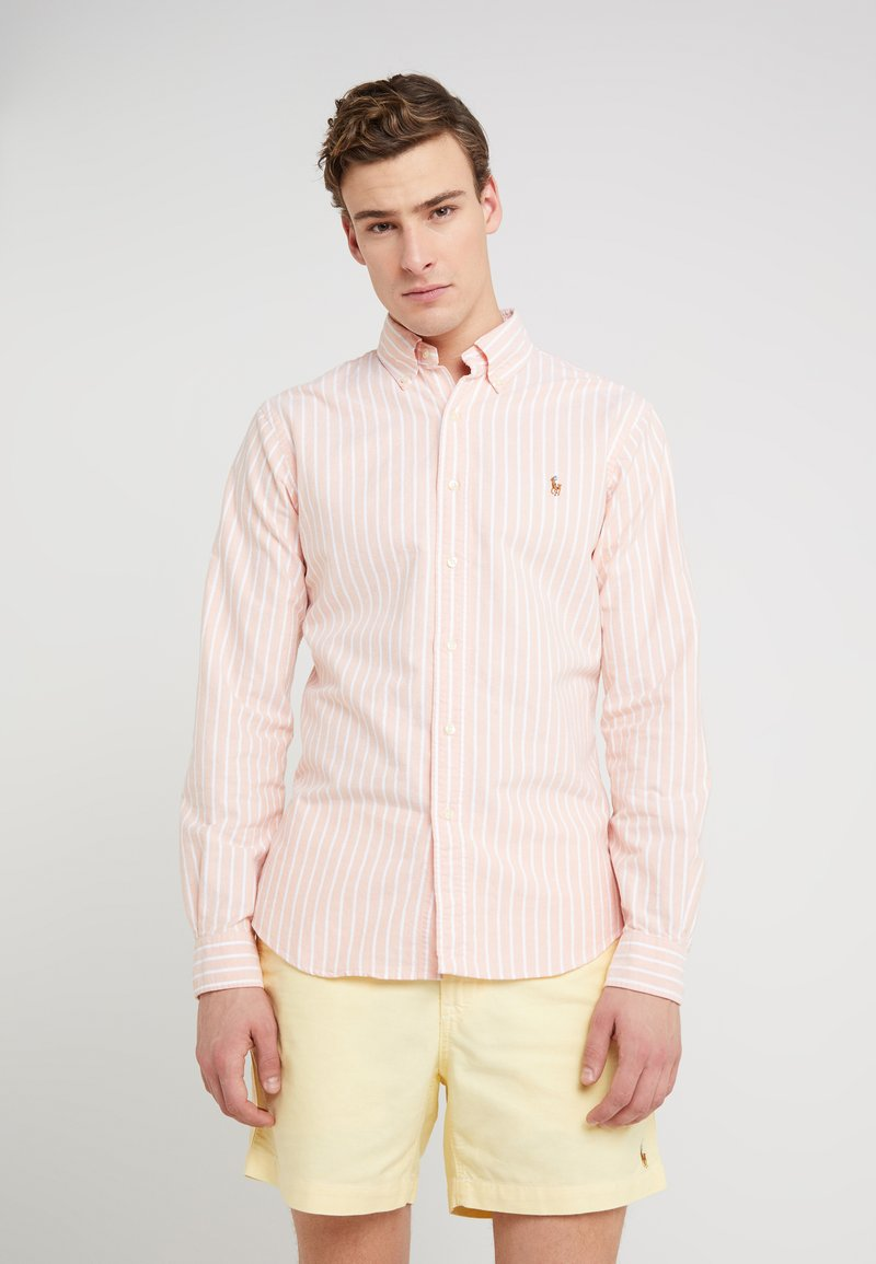 Polo Ralph Lauren - OXFORD SLIM FIT - Camisa - tangerine